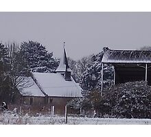 A Winter's Scene Photographic Print