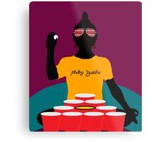 Buddha Pong Metal Print
