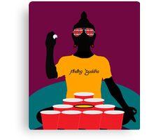 Buddha Pong Canvas Print
