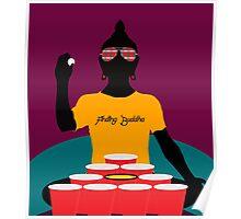 Buddha Pong Poster