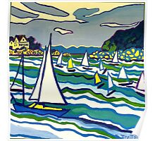 Sailing School Poster