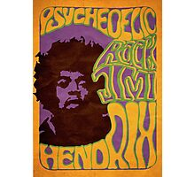 psychedelic rock  Photographic Print