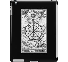 Wheel of Fortune Tarot Card - Major Arcana - fortune telling - occult iPad Case/Skin