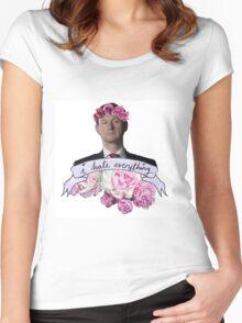 ♥ Mycroft ♥ Women's Fitted Scoop T-Shirt