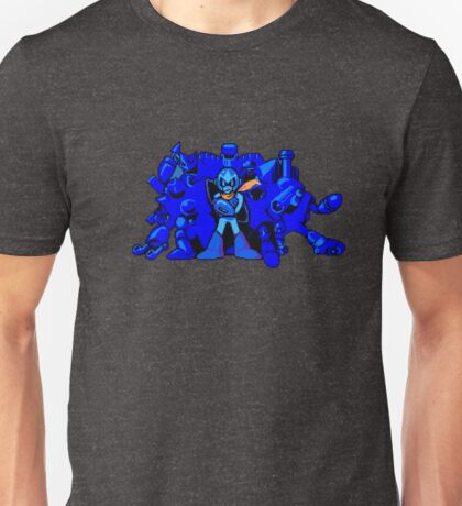 Proto Man and the Robot Masters (MM5) Unisex T-Shirt