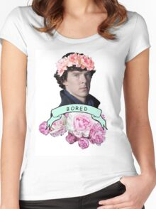 ♥ Sherlock ♥ Women's Fitted Scoop T-Shirt