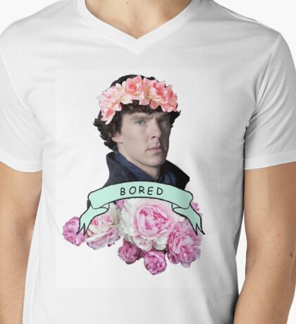 ♥ Sherlock ♥ Mens V-Neck T-Shirt