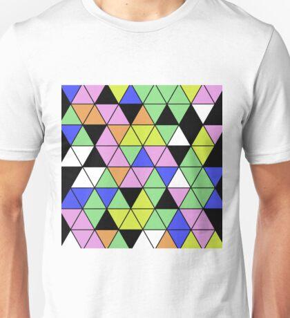 Pastel Triangles Unisex T-Shirt