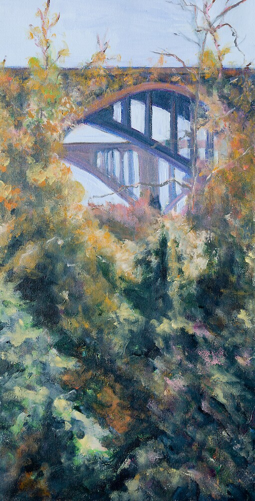 Bridges from the Arroyo Seco by bluerabbit