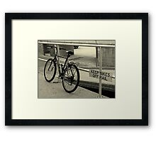 Doesn't Anyone Read Anymore? Framed Print