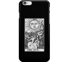 The Sun Tarot Card - Major Arcana - fortune telling - occult iPhone Case/Skin