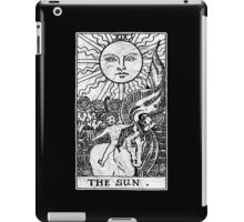 The Sun Tarot Card - Major Arcana - fortune telling - occult iPad Case/Skin