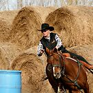 Barrel Racing by Angela E.L. Clements