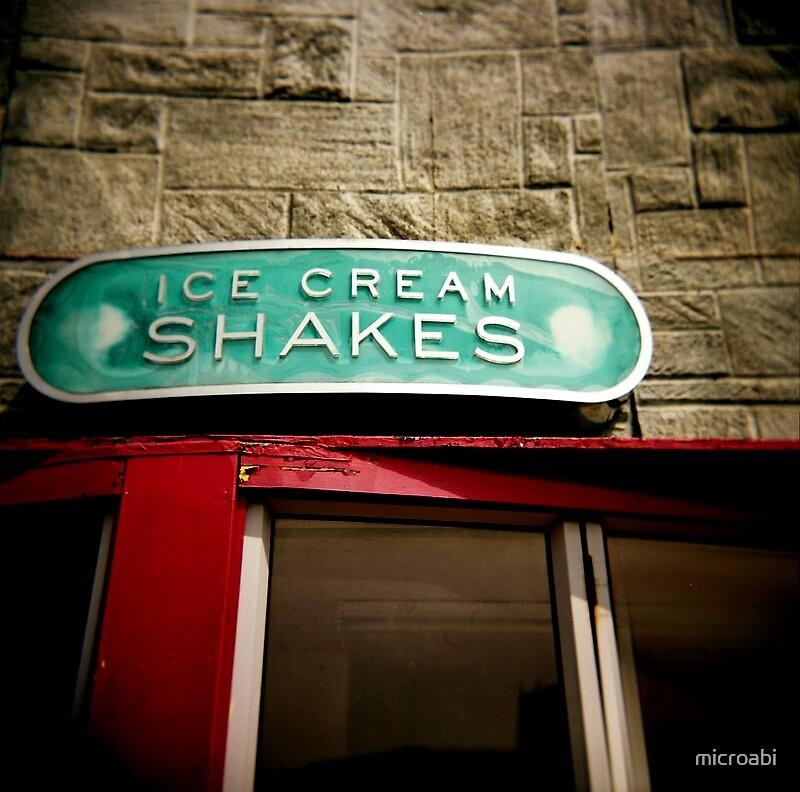 ice cream shakes by microabi