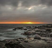 Sunset on the rocks by thecosbykids