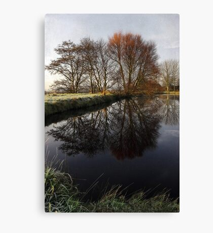 A Country Pond Canvas Print