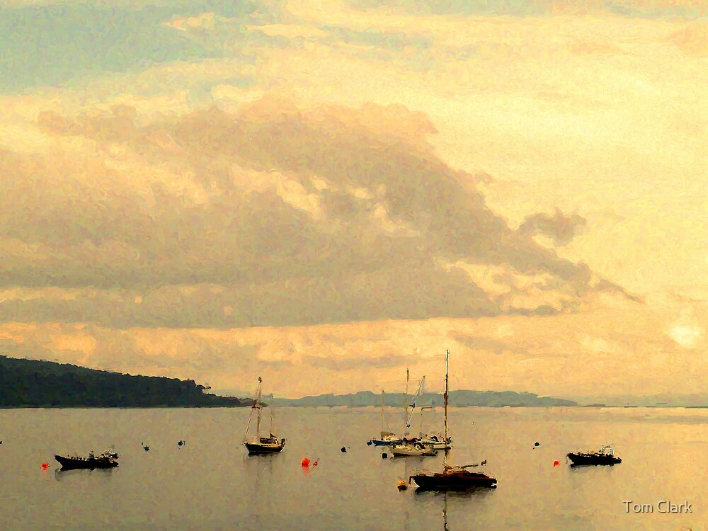 Brodick Bay by Tom Clark