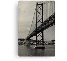 Lisbon's Golden Gate  Canvas Print