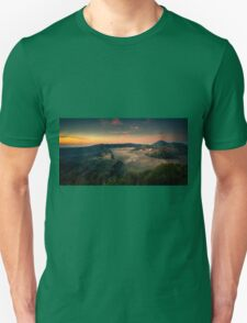 Mount Bromo at sunrise T-Shirt