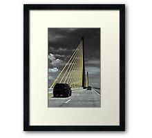 Sunshine Skyway Framed Print