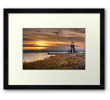 View point Framed Print