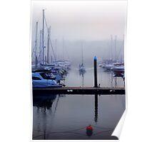Through The Mist Poster