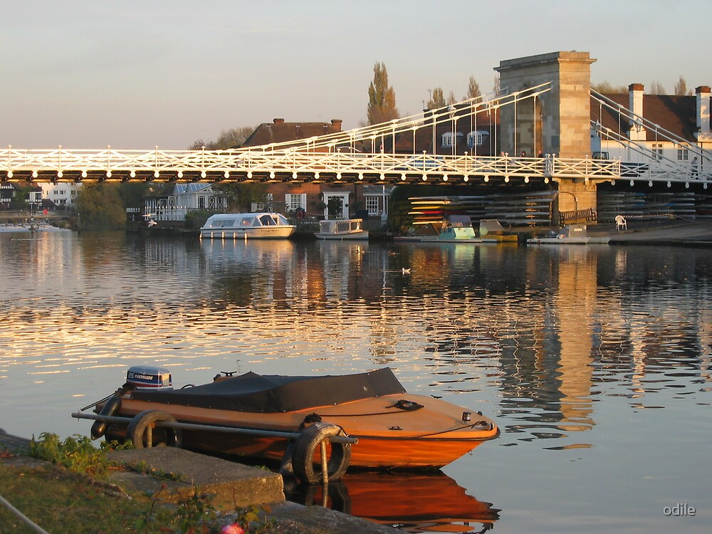 river Thames by odile