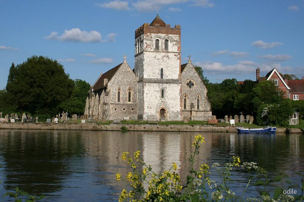 Bisham church by odile