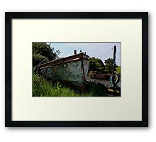 B329 Decommissioned  Framed Print