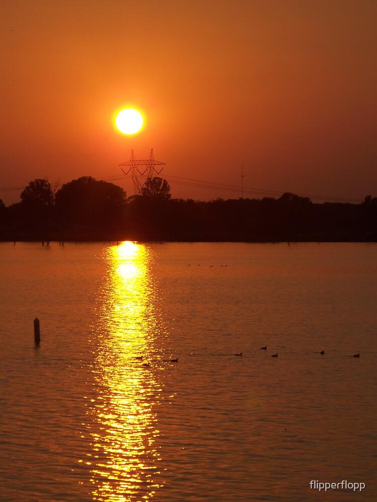 evening sunset 1 by flipperflopp
