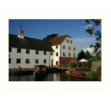 old mill river Thames Art Print
