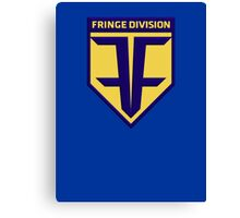 Fringe Division Badge Canvas Print