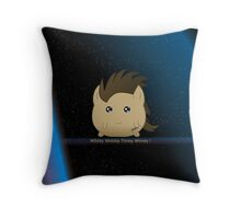 Wibbly Wobbly Timey Wimey...Pillow Throw Pillow