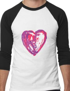 The Heart Of A Child By A Child Men's Baseball ¾ T-Shirt