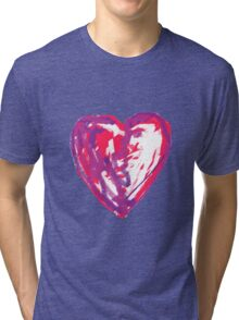 The Heart Of A Child By A Child Tri-blend T-Shirt