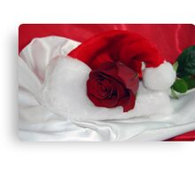 Christmas Red Canvas Print