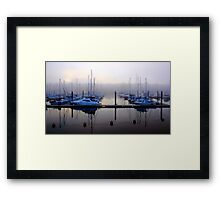 Misting Up Framed Print