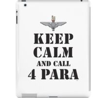KEEP CALM AND CALL 4 PARA iPad Case/Skin