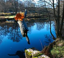 Blue Water Jump! by Jonas Bohlin