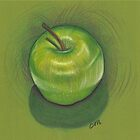 Green Apple - Still Life by Troglodyte