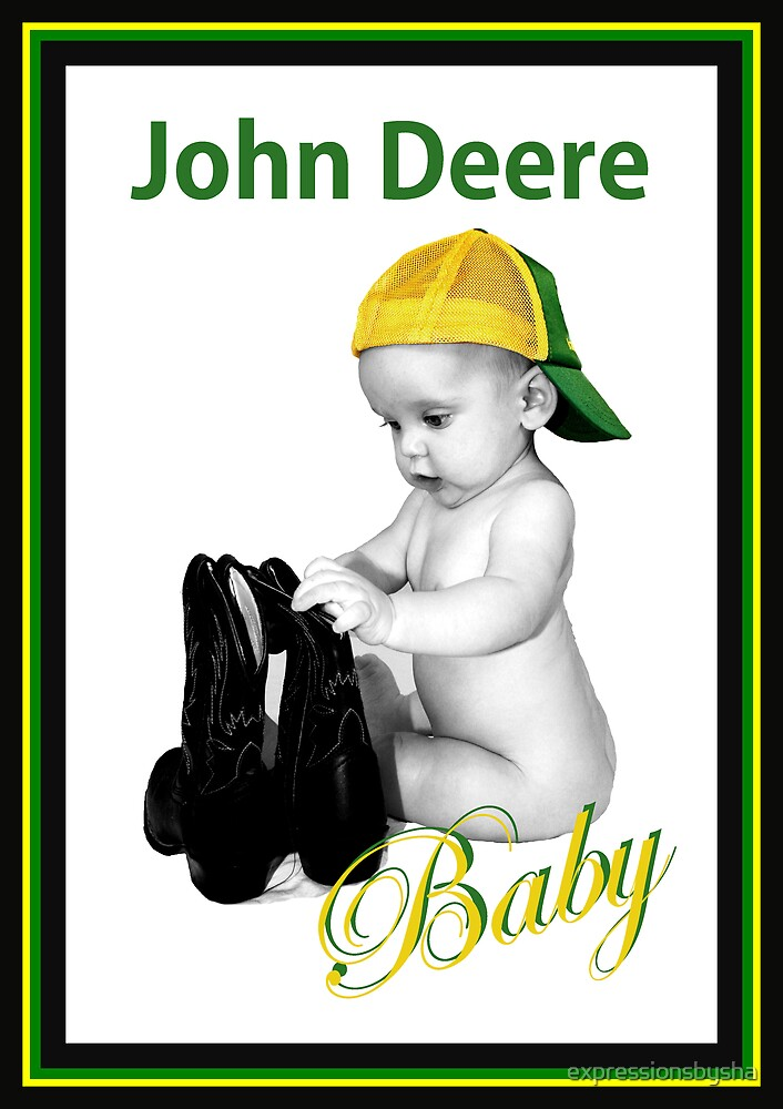 John Deere Baby by expressionsbysha