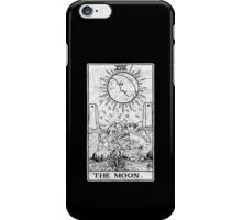 The Moon Tarot Card - Major Arcana - fortune telling - occult iPhone Case/Skin