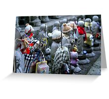 the hooded one Greeting Card
