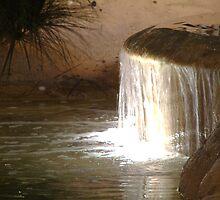 Tiny waterfall by phlgrl33