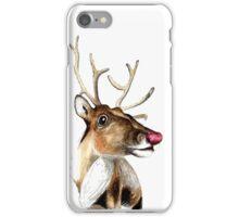 Rudolf the red nosed Reindeer iPhone Case/Skin