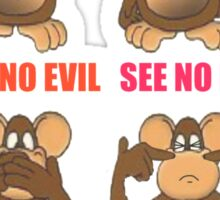 Smell No Evil Sticker