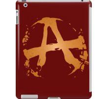 'RAGE' Anarchy Symbol iPad Case/Skin