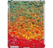 Candle colors iPad Case/Skin