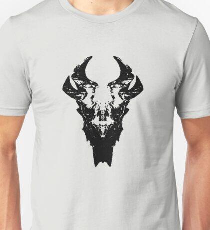 Elder Dragon Skull Unisex T-Shirt