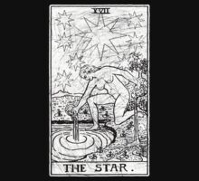 The Star Tarot Card - Major Arcana - fortune telling - occult by createdezign
